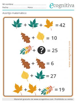 acertijos matematicos octubre 21