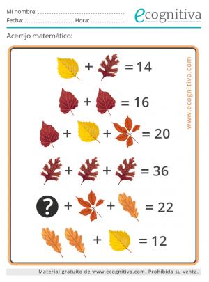 enigma matemático octubre 21